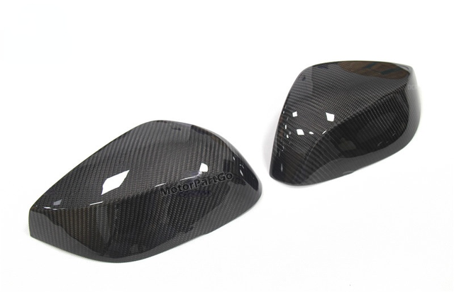 Real Crabon Fiber Mirror Cover Exchange original 1 pair for  Infiniti Q50 Q50S Q50L Q70 2014 2015 2016-UP Q60 QX30 2016+UP T268 2