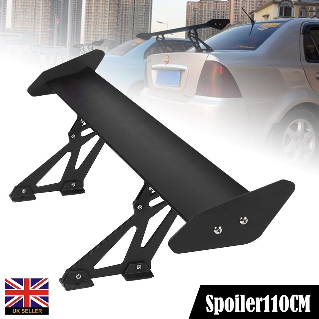 135cm Lightweight Aluminum Car GT Tail Wing Racing Spoilers Bracket Universal
