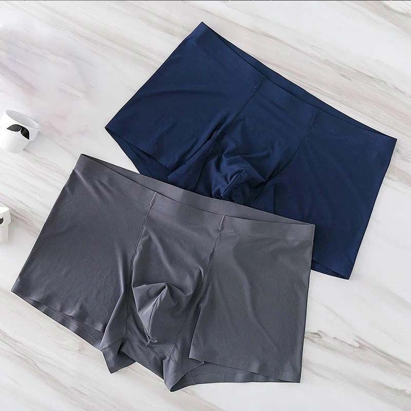 Underwear Shorts Boxers Ice-Silk Seamless Spandex L-XXXL Luxury Popular 3D 1PC Antibacterial