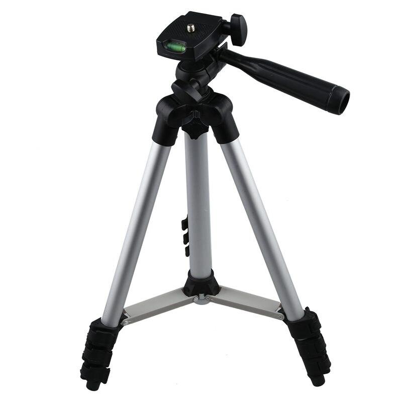 3110 In lega di Alluminio treppiedi di macchina fotografica digitale macchina di carta treppiede stand DV treppiede cellulare Selfie basamento