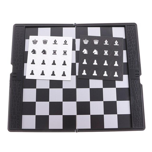 Mini portefeuille d'échecs de voyage magnétique mis bon cadeau de conception pour le voyage Durable 6