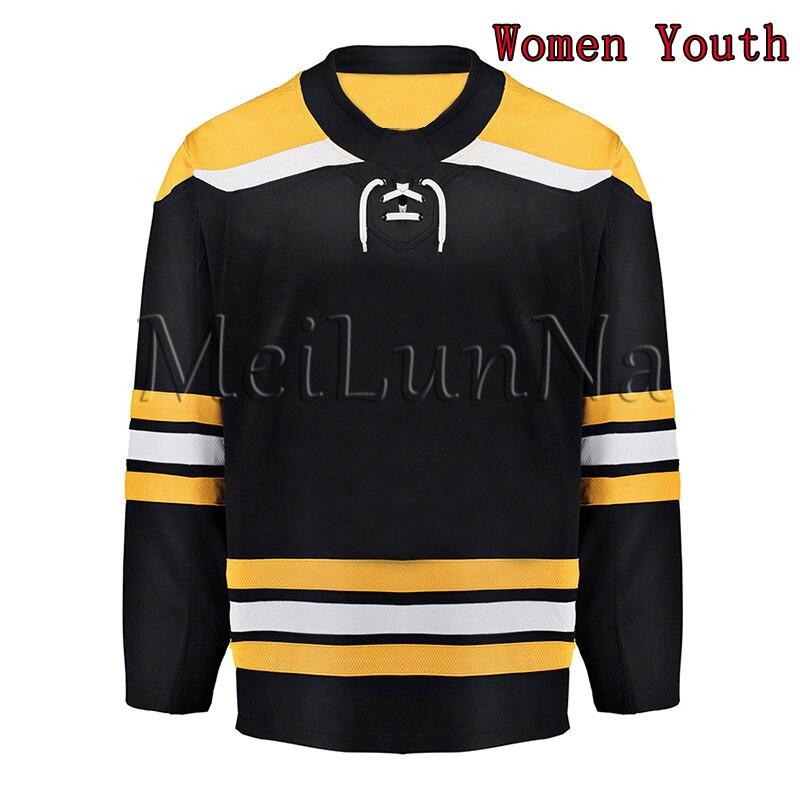 Zdeno Chara Brad Marchand David Pastrnak Patrice Bergeron Tuukka Rask Bobby Orr Cam Neely Women Youth Boston Blank Hockey Jersey