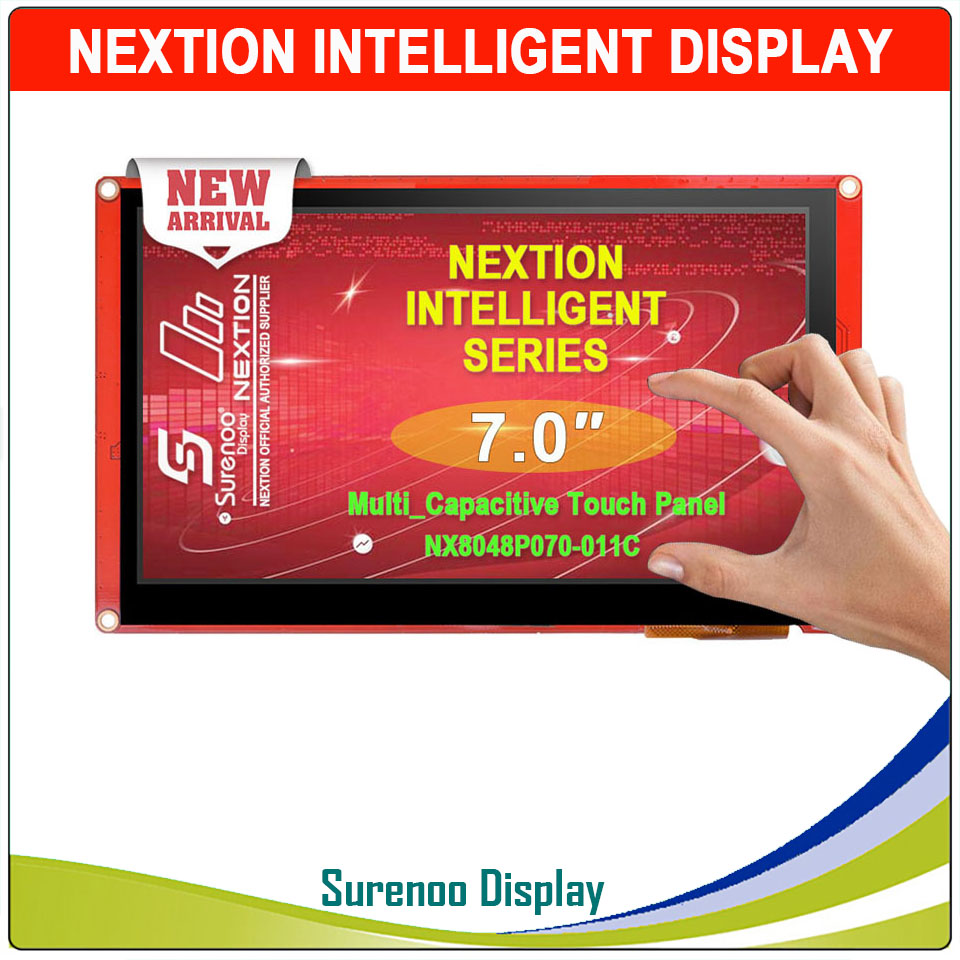 HOT SALE] Nextion 7 0 Inch TFT Touch Screen 800 x 480 UART