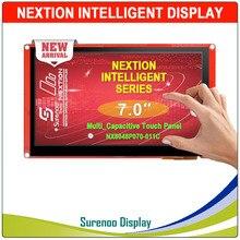 "7.0 ""NX8048P070 Nextion אינטליגנטי HMI USART UART הסידורי TFT LCD מודול תצוגת Resistive או קיבולי לוח מגע עבור Arduino"
