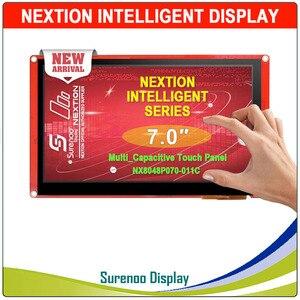 """Image 1 - 7.0 """"NX8048P070 Nextion Thông Minh Màn Hình HMI USART UART Nối Tiếp TFT LCD Module Hiển Thị Điện Trở Hoặc Cảm Ứng Điện Dung Bảng Điều Khiển Cho Arduino"""