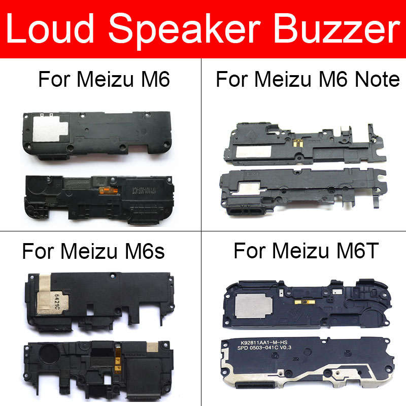Speaker Buzzer Ringer Flex Cable For Meizu M6 M6s S6 M6T MX6 Note Loud-Speaker Module Ringer Buzzer Replacement Repair Parts