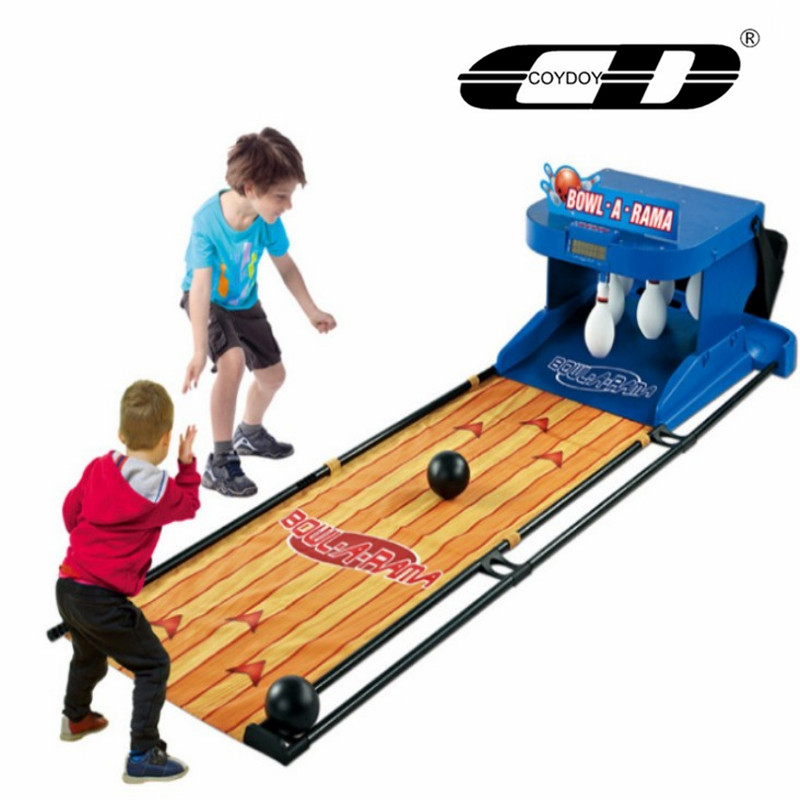 COYDOY Children's Electric Bowling  Electronic Scoring Indoor Parent-child Ball Sports Game Console Birthday Present Boy's Toy