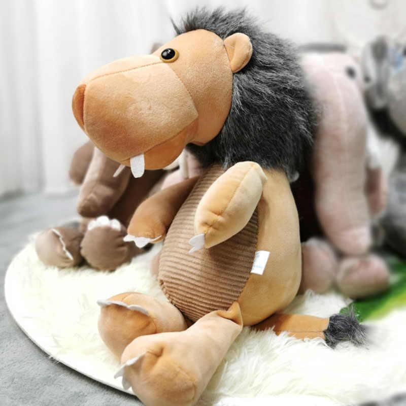20-30 Cm Jumbo Gajah Mammoth Mainan Mewah Lion Lembut dan Nyaman Boneka Boneka Bayi Anak ulang Tahun Hadiah Natal