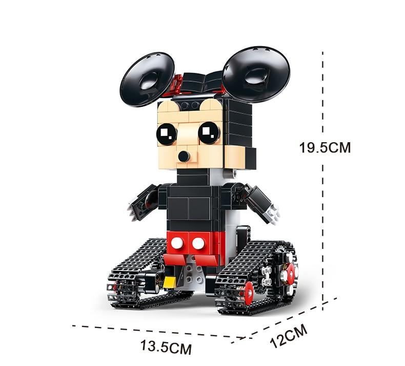 MOULD KING  Technic Crawler robot Walking Building Block 18