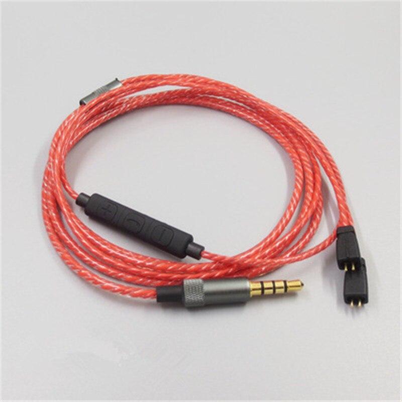 Cable de Audio de repuesto para UE TF10 TF15 5PRO auriculares de 0,75mm Cable de Control de volumen auriculares conector de Cable 23 AugT1
