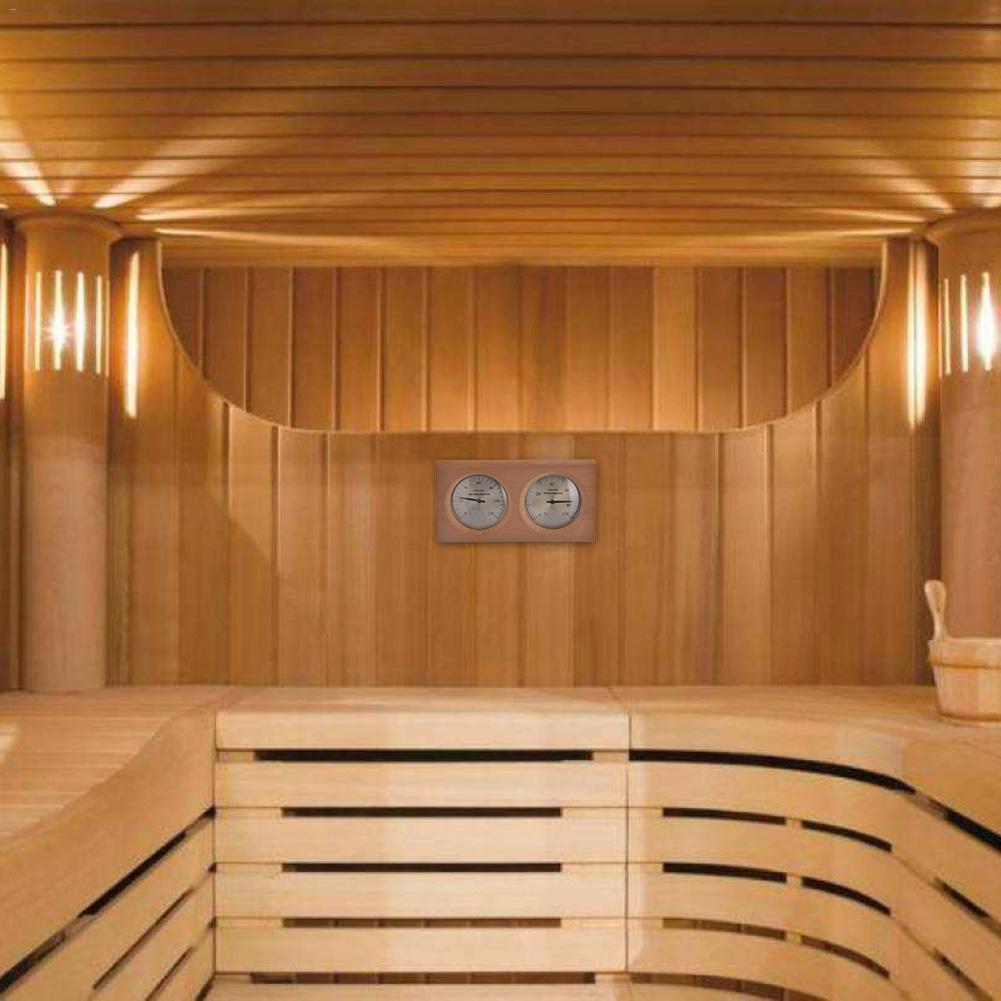 termômetro instrumento termômetro medidor de umidade banho e sauna uso interno