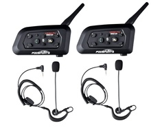 2 Pcs Fodsports V6 Pro Voetbal Scheidsrechter Intercom Bluetooth Scheidsrechter Headset Bt Draadloze Interphone Oordelen Voetbal Coach Oortelefoon