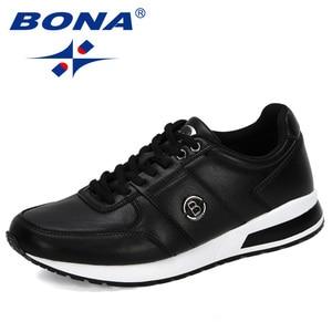 Image 3 - BONA 2020 새로운 디자이너 인기있는 남성 캐주얼 신발 경량 로퍼 신발 남자 야외 레저 신발 Zapatillas Para Hombre