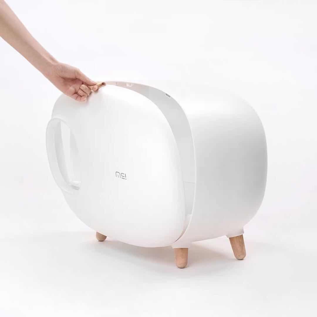 Кошачий Туалет, песочный горшок, полностью герметичный, большой, анти всплеск и запах, ящик, опрокинутый, кошачий навоз, принадлежности для к... - 2