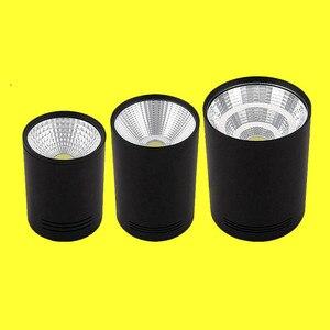 Image 2 - סופר בהיר בהירות גבוהה LED COB תקרת ספוט מנורת 9W 12W 15W משטח הר Downlight מקורה תאורת מטבח חדר שינה