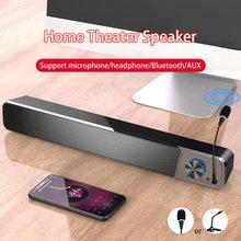 Soundbar TV Caixa De Som Bluetooth Speakers Computer Coluna Subwoofer Boombox Microphone Alto-falantes Music Home Theatre System
