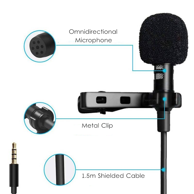 Omnidirectional Metal Microphone Consumer Electronics Microphones