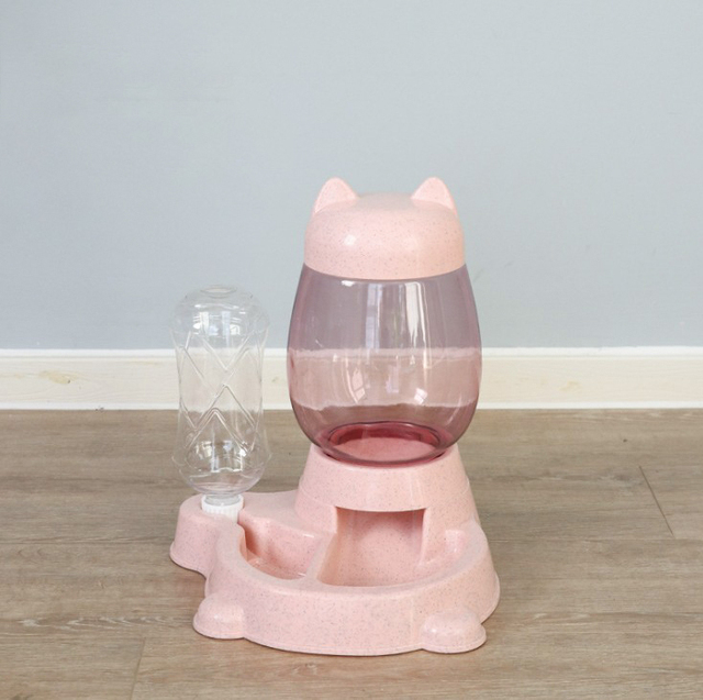 2.2L Cat & Dog Automatic Feeder and Drinking Bowl  5