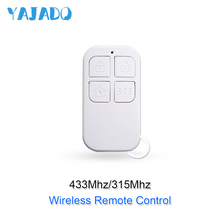 YAJADO High Quality 433Mhz&315Mhz Wireless Remote Control with SOS Button for Arming or Disarming of Home Security Alarm System