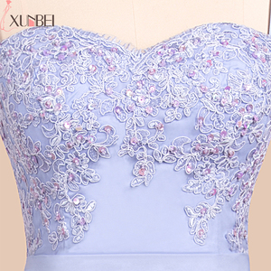 Image 5 - Bridesmaid Dresses Backless Mermaid Lilac Lace Straps Beaded Appliques Wedding Party Gown Robe demoiselle dhonneur