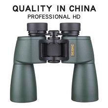 SCOKC prismáticos con zoom potente telescopio para caza profesional, alta calidad, sin infrarrojos, ejército, visión nocturna con poca luz, Hd 10X50