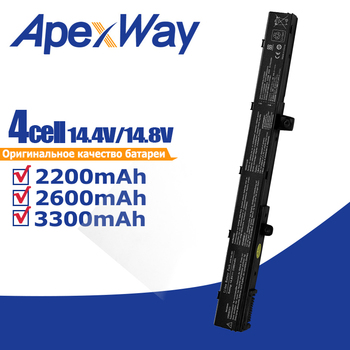Apexway Batterie D'ordinateur Portable A41N1308 A31N1319 0B110-00250100 Pour Asus X451 X551 X451C X451CA X551C X551CA X551M Série