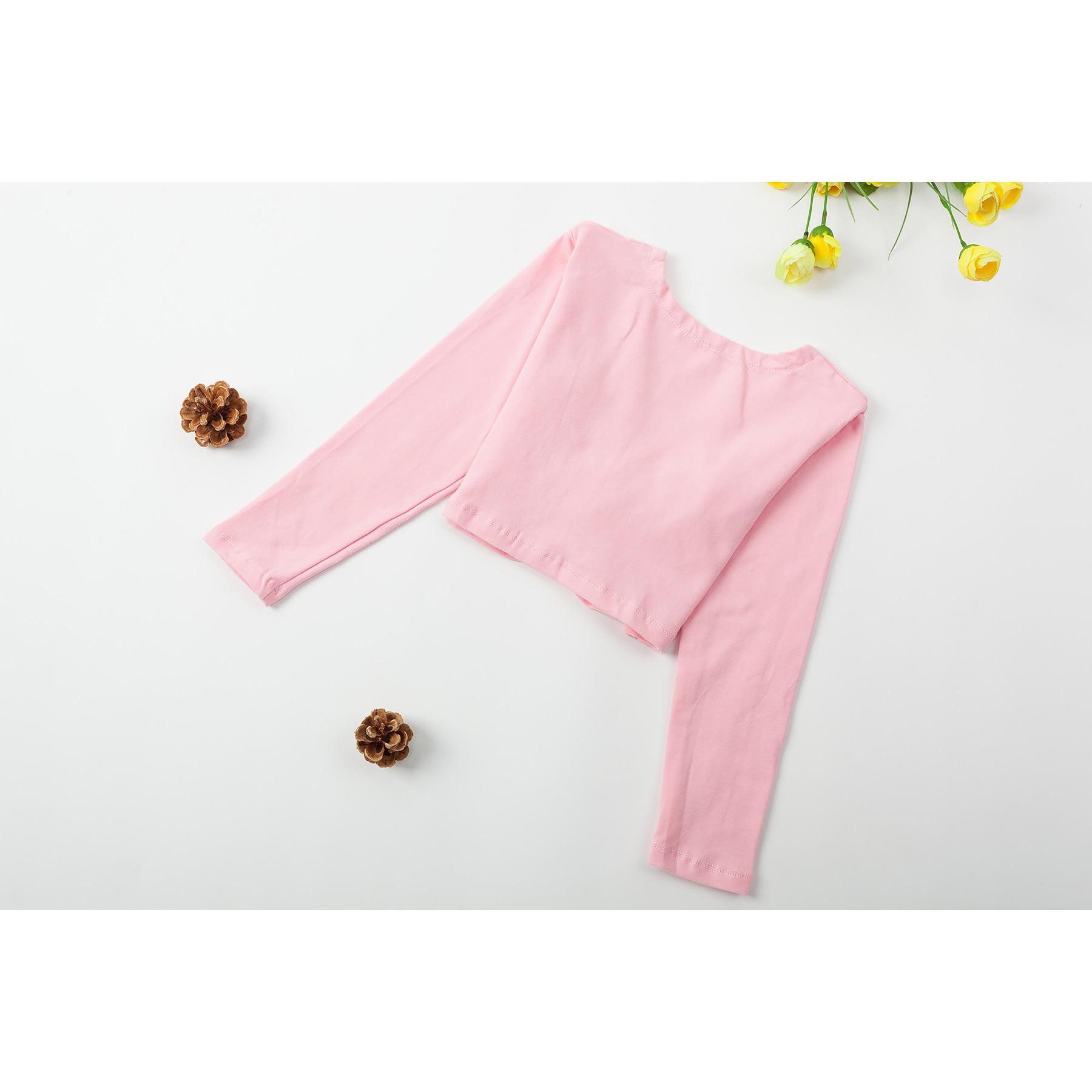 Girls Ballet Sweater Long Sleeve Ballet Top For Girls  Dance Warm Jacket Ballerina Wrap Coat