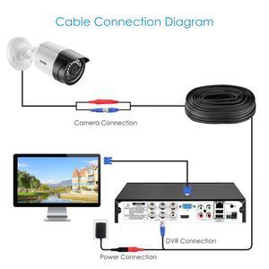 Image 5 - ZOSI 1080P 4CH CCTV Kamera System CVBS AHD CVI TVI Video Wasserdichte Außen Kamera CCTV Überwachung Sicherheit System DVR kit