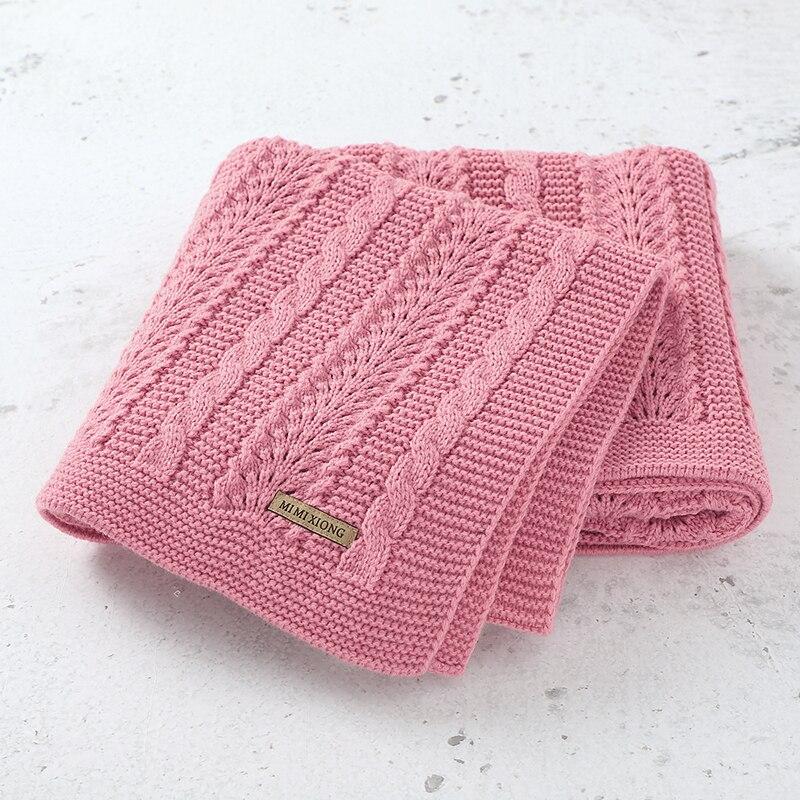 Baby Blankets Swaddle Wrap 100*80cm Newborn Infantil Stroller Sofa Bedding Sleeping Covers Blankets Super Soft Children's Quilts