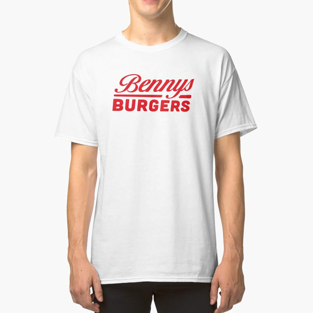 Benny/'s Burgers Funny Stranger Things Show Humor Gray Basic Women/'s T-Shirt