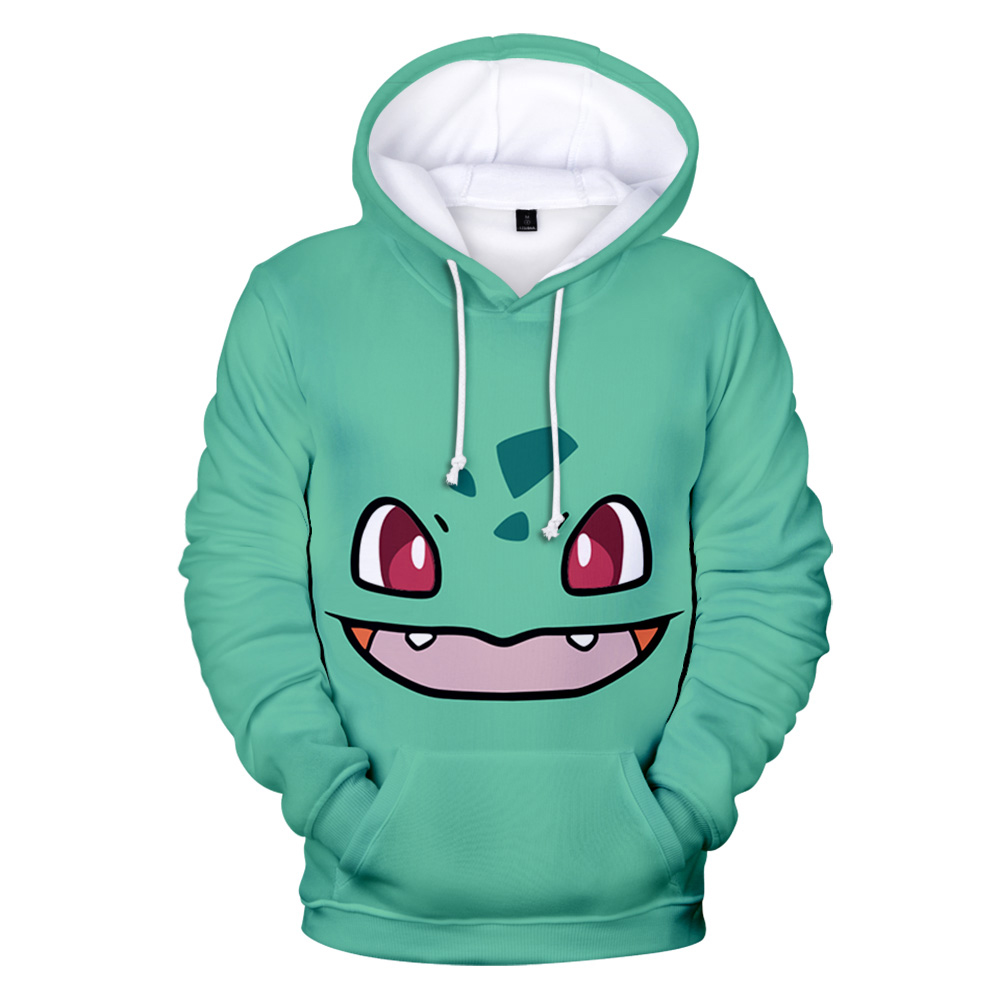 Autumn 3d Anime Pokemon Hoodies Hoody Kids  Sweatshirts Casual Pullovers Pokemon Hooded Boys Girls Anime  Full 2