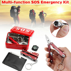8Pcs Survival Emergency Tools