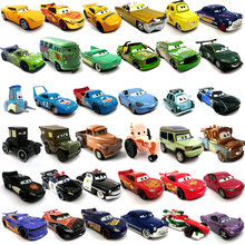 Disney Pixar 2 3 Toy Car McQueen Jackson Storm 1:55 Cast Metal Alloy Toy Car Model Children's Birthday Christmas Gift