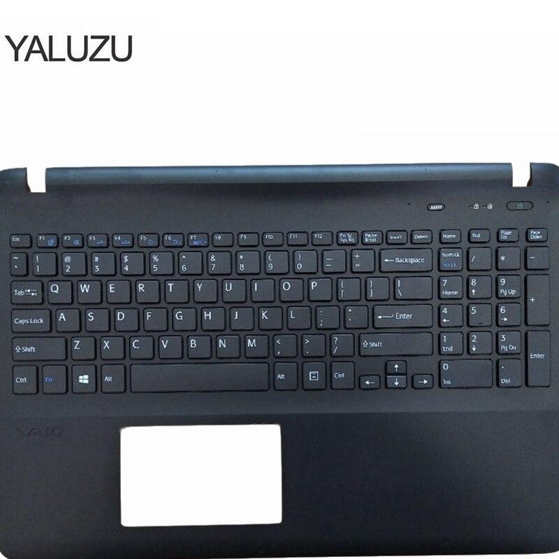 NEW for SONY Svf152a29v SVF152C29V SVF1521Q1RW  Russian Keyboard Palmrest Cover