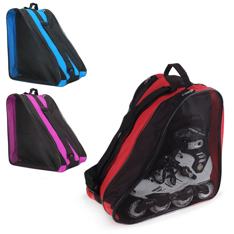 Ice Skate Roller Blading Carry Bag With Shoulder Strap For Kids Adults EIG88