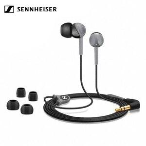 Проводные стереонаушники Sennheiser CX200 StreetII 3,5 мм, гарнитура, спортивные наушники для бега, HIFI наушники для iPhone/samsung, Androd, музыкальная игра