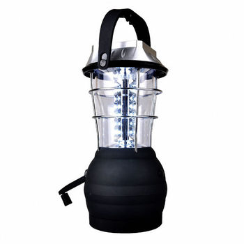 Solar Lantern 5 Mode Hand Crank Dynamo 36 LED Rechargeable Camping Lantern Emergency Light, Ultra Bright LED Lantern - Camping фото