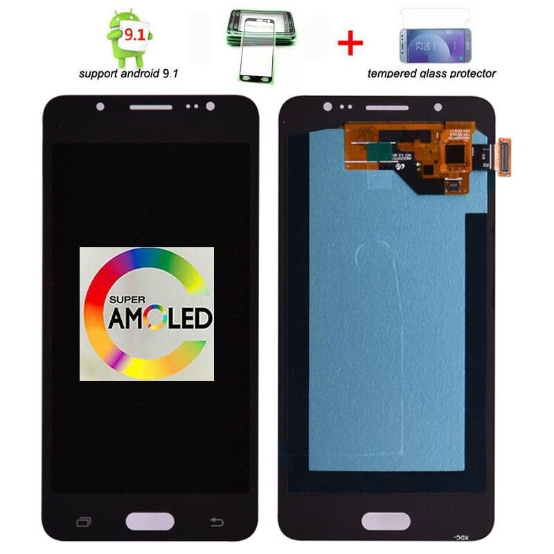 Super AMOLED pour Samsung Galaxy J5 2016 J510 LCD écran tactile numériseur assemblée pour J510FN J510F J510G J510Y J510M