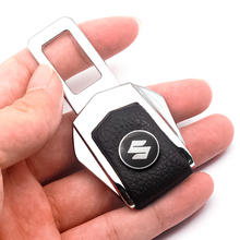 1/2PCS Car Seat Belt Cover Metal Car Accessories Interior For Suzuki Grand Vitara SX4 Swift Jimny Vitara Car Styling Accessories