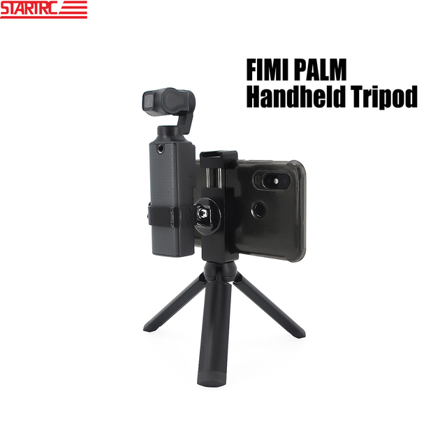 STARTRC el Tripod Metal telefon tutucu yuvası braketi FIMI PALM el Gimbal kamera genişletme aksesuarları