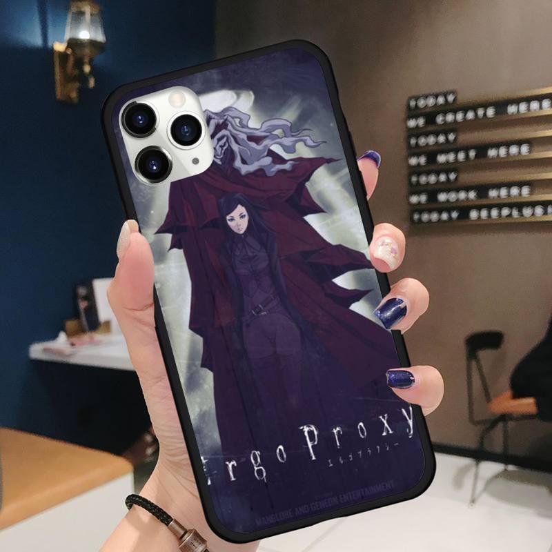 Ergo Proxy Phone Case for iPhone 11 12 mini pro XS MAX 8 7 6 6S Plus X 5S SE 2020 XR