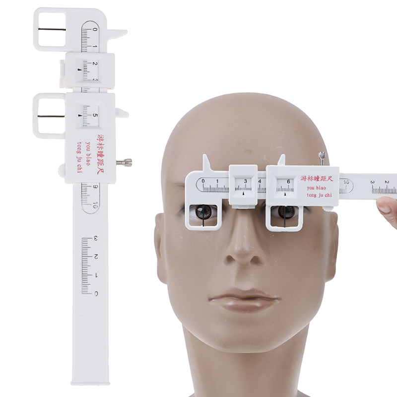 0-100mm Handle Eye Occluder Optometry PD Ruler Pupil Distance Measuring Tool Eye Ophthalmic Tool For Hospital Eye Care Tools