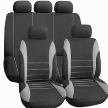 купить 9Pcs Automobiles Car Seat Covers Airbag Compatible Seat Cover for Lada Volkswagen Colours Seat Protector Interior Accessories дешево