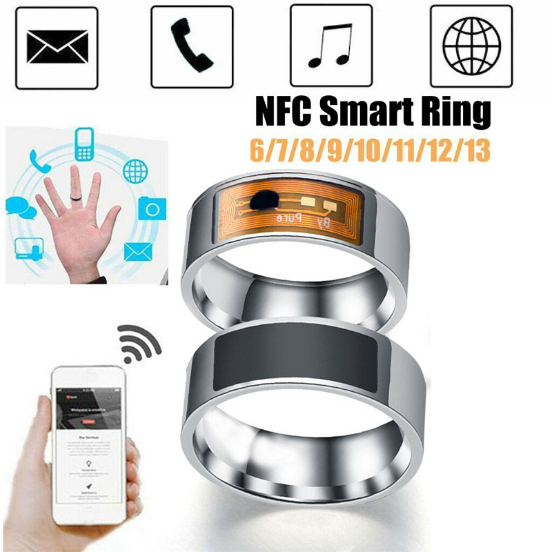 NFC Smart Ring ID Card Multifunctional Waterproof Intelligent Magic Smart Wear Finger Digital Ring For Android Windows NFC Ring