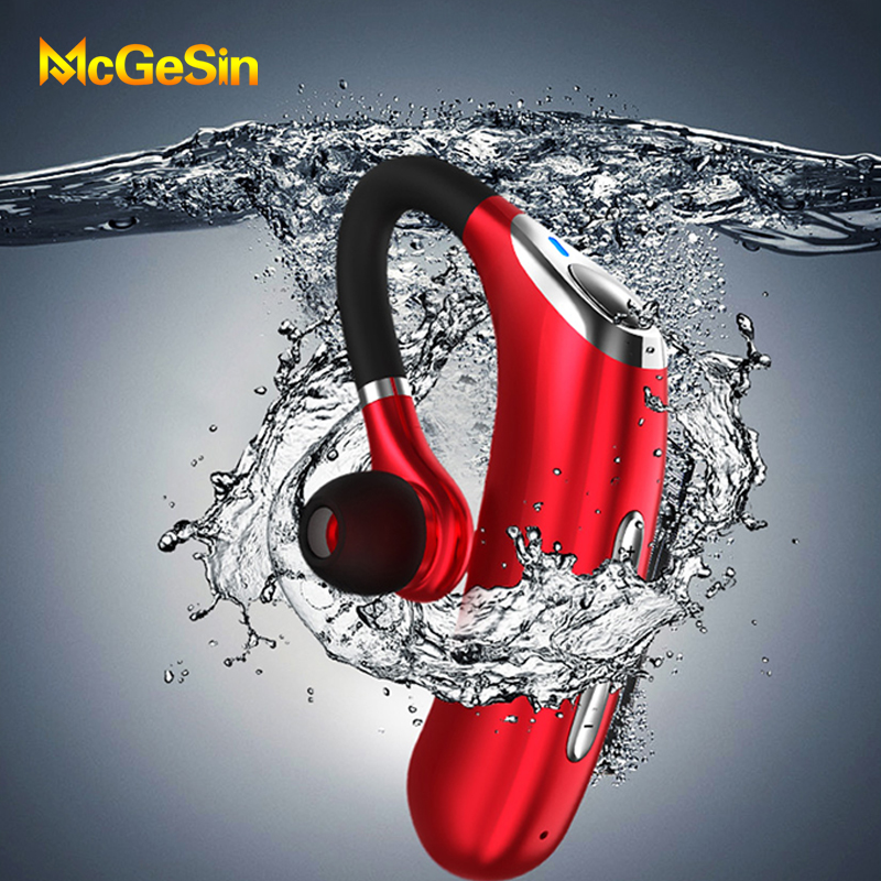 New Business Wireless Bluetooth Earphone M50 Headset IPX7 Waterproof Earbuds Noise Reduction Music Earpiese With Mic For Driver