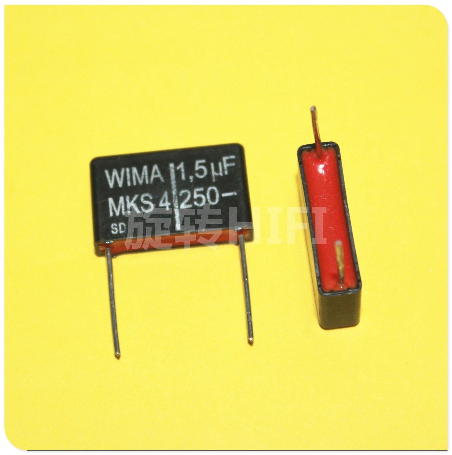 WIMA MKS4 P22MM MKP10 MKP4 MKC4 пленочный аудио конденсатор мкФ 1,5 мкФ 2,2 мкФ 3,3 мкФ 4,7 мкФ 5,6 мкФ 15 мкФ 250V 400V 160V 63V 100V красный| |   - AliExpress