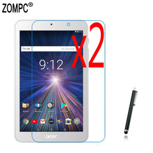 3in1 2x Soft Films Screen Protector Protective Film Guards +1x Stylus For Acer Iconia One 8 B1-820 B1-850 A6001 B1-860 B1-870 8