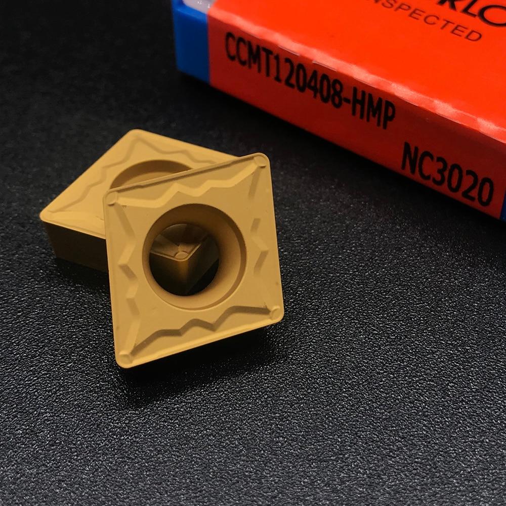 Купить с кэшбэком Insert Original CCMT060204 CCMT09T304 CCMT09T308 CCMT120404 CCMT120408 HMP NC3020 Internal Turning Tool Carbide Insert For Steel
