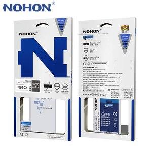 Image 5 - NOHON Batterie Für Samsung Galaxy Note 2 3 4 8 Note8 N9500 Note4 N9100 N910X Note3 NFC N9000 Note2 N7100 original Telefon Bateria