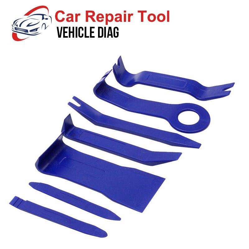 7pcs Plastic Trim Removal Tool Car Radio Panel Interior Door Clip Panel Trim Dashboard Auto Car Removal Tool